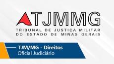 TJM/MG - Oficial Judiciário/Oficial Judiciário (Direitos) (On-line)