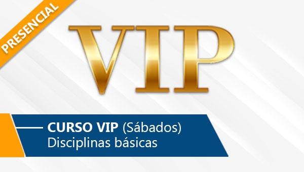 Curso VIP - Sábados