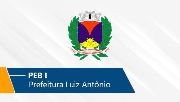 Pref. Luiz Antônio | PEB I (On-line)