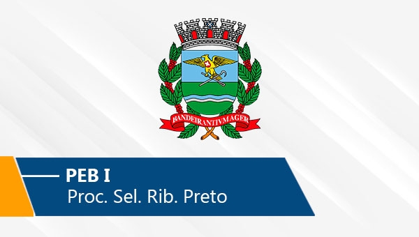 Seletivo de Ribeirão Preto   PEB I (On-line)