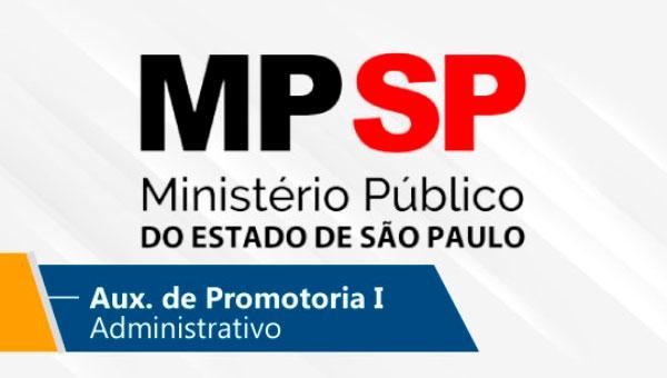 MP/SP l Auxiliar de Promotoria I – Administrativo (On-line)