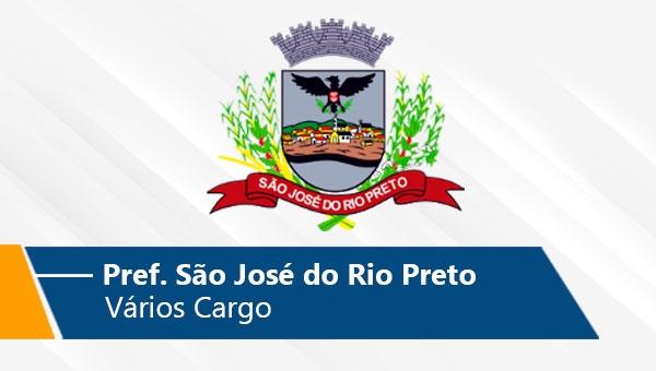 Pref. São José do Rio Preto | Vários Cargo (On-line)