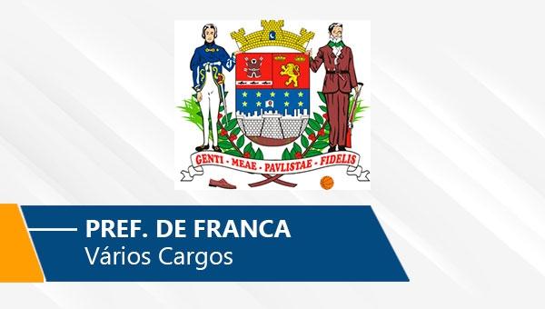 Pref. de Franca | Vários Cargos (On-line)