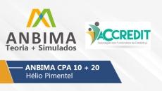 Anbima   CPA 10 e 20 - Teoria + Simulados
